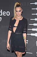 BROOKLYN, NY - SEPTEMBER 10: Cara Delevingne at Rihanna's second annual Savage X Fenty Show at Barclay's Center in Brooklyn, New York City on September 10, 2019. Credit: John Palmer/MediaPunch