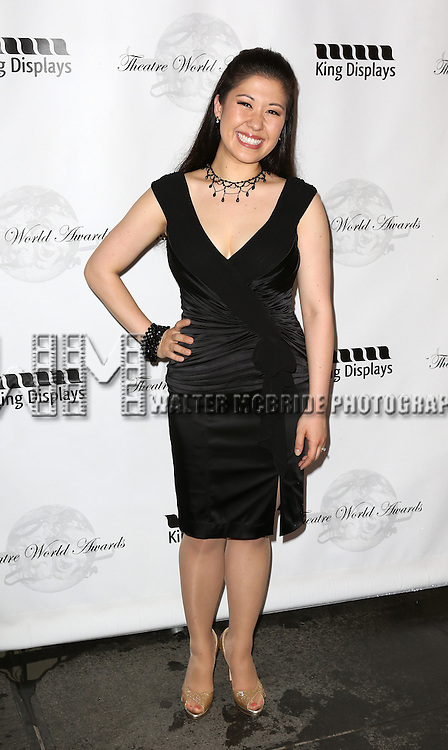 Ruthie Ann Miles attending the 69th Annual Theatre World Awards at the Music Box Theatre in New York City on June 03, 2013.