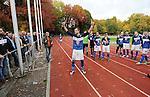 2015-10-25 / Voetbal / Seizoen 2015-2016 / FC Turnhout - KV Vosselaar / FC Turnhout viert de 3-1 overwinning tegen de buren uit Vosselaar. Hier Gert Michiels op de voorgrond.<br /><br />Foto: Mpics.be