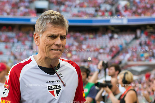 Paulo Autuori (Sao Paulo), AUGUST 1, 2013 - Football / Soccer : Audi Cup 2013 match between AC Milan 1-0 Sao Paulo FC at Allianz Arena in Munich, Germany. (Photo by Maurizio Borsari/AFLO) [0855]