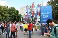 Vorplatz der Metro-Station Sportivnaya - 20.06.2018: Portugal vs. Marokko, Gruppe B, 2. Spieltag, Luschniki Stadion Moskau