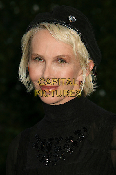 TRUDIE STYLER.The 17th Annual Environmental Media Awards held at the Ebell Club, Los Angeles, California, USA..October 24th, 2007.headshot portrait black hat beret .CAP/ADM/RE.©Russ Elliot/AdMedia/Capital Pictures.