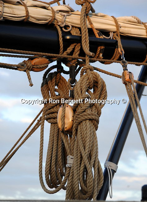 Tall ship ropes, Tall ship ropes Annapolis Maryland United States, Square rig, Tall ship, sloop, schooners, brigantine, brig's, rigs, main mast square rigged, brig, gaff rigs, topmasts, topsails, fore-and-aft, sailing vessel, masts, spars, spar, sails, bow to stern, square sail ship, nautical, sailing ships, Braque, traditionally rigged sailing vessel, topsails, Maryland, Fine Art Photography by Ron Bennett, Fine Art, Fine Art photography, Art Photography, Copyright RonBennettPhotography.com ©