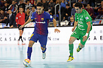 League LNFS 2017/2018 - Game 10.<br /> FC Barcelona Lassa vs CA Osasuna Magna: 3-3.<br /> Adolfo vs Llamas.