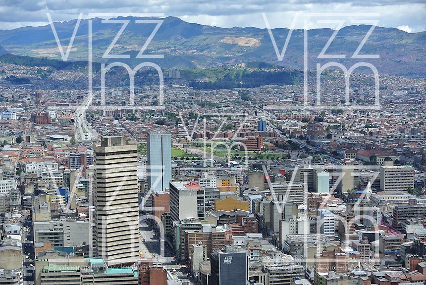 BOGOTÁ -COLOMBIA. Aspecto del centro sur de la ciudad de Bogotá, Colombia./ Aspect of  downtown and south of Bogota, Colombia. Photo: VizzorImage/ Str