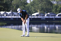 Paul Casey (ENG) putts on the 14th green during Thursday's Round 1 of the 2017 PGA Championship held at Quail Hollow Golf Club, Charlotte, North Carolina, USA. 10th August 2017.<br /> Picture: Eoin Clarke | Golffile<br /> <br /> <br /> All photos usage must carry mandatory copyright credit (&copy; Golffile | Eoin Clarke)