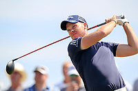 Danny Willett (ENG) on the 3rd tee during the 1st round of the 2017 Portugal Masters, Dom Pedro Victoria Golf Course, Vilamoura, Portugal. 21/09/2017<br /> Picture: Fran Caffrey / Golffile<br /> <br /> All photo usage must carry mandatory copyright credit (&copy; Golffile | Fran Caffrey)