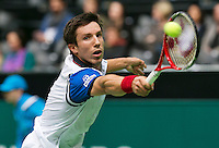 11-02-14, Netherlands,Rotterdam,Ahoy, ABNAMROWTT,Igor Sijsling(NED)<br /> Photo:Tennisimages/Henk Koster