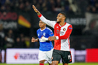 28th November 2019, Rotterdam, Netherlands; Europa League football, Feyenoord versus Glasgow Rangers;  Leroy Fer during the game - Editorial Use