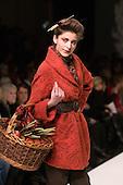 20 February 2009, London Fashion Week, Collection by designer Caroline Charles