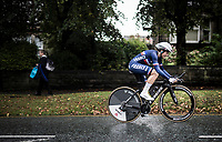 Audrey Cordon (FRA/Trek-Segafredo)<br /> Elite Women Individual Time Trial<br /> <br /> 2019 Road World Championships Yorkshire (GBR)<br /> <br /> ©kramon
