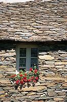 """Europe/France/Corse/2B/Haute-Corse/Nebbio/Murato: la ferme à """"Campo Di Monte"""" restaurant de Pauline Julliard"""
