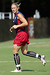 22 October 2005: US National Team member Abby Wambach. The United States and Mexico Women's National Teams practiced at Blackbaud Stadium in Charleston, South Carolina before an International Friendly soccer match.