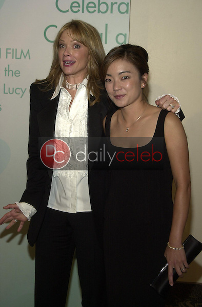 Lauren Holly and Carolyn Chen