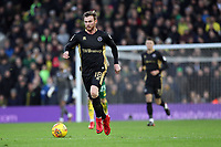Ryan Tunnicliffe of Millwall runs with the ball during Norwich City vs Millwall, Sky Bet EFL Championship Football at Carrow Road on 1st January 2018