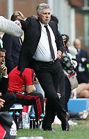"""ancelotti<br /> Genova 14/09/2008 Stadio """"Ferraris"""" <br /> Calcio Serie A Tim 2008-2009 <br /> Genoa-Milan<br /> Foto Davide Elias Insidefoto"""