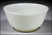 BNPS.co.uk (01202) 558833<br /> Picture: collect<br /> <br /> A breakfast bowl bought for just 50p at a charity boot sale has sold for nearly &pound;20,000. The plain white bowl that is five inches wide and looks like something you would eat your cereal out of, is actually an 18th century relic from Imperial China made entirely from Jade. It remerged at a fund-raising event for an NHS hospital in the south east of England about 10 years ago. The unnamed couple who handed over a 50p piece for it, had no idea of its orgin but were taken with the colour and style of it.