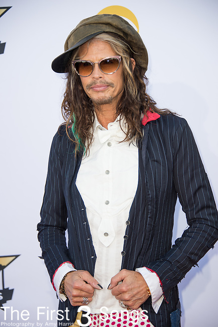 Steven Tyler attends the 50th Academy Of Country Music Awards at AT&T Stadium on April 19, 2015 in Arlington, Texas.