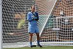 30 August 2009: North Carolina's Ashlyn Harris. The University of North Carolina Tar Heels defeated the University of North Carolina Greensboro Spartans 1-0 at Fetzer Field in Chapel Hill, North Carolina in an NCAA Division I Women's college soccer game.