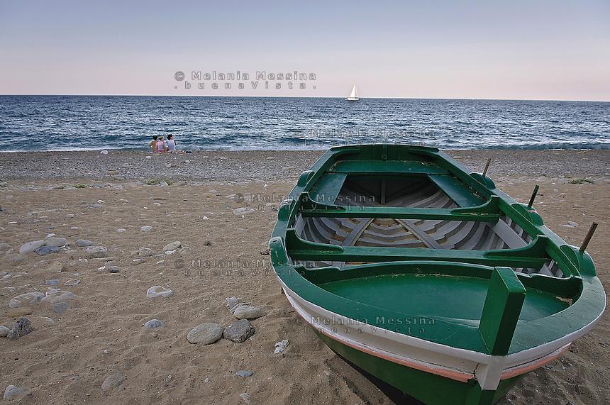 Spiaggia di Vergine Maria a Palermo<br /> Vergine Maria beach in Palermo