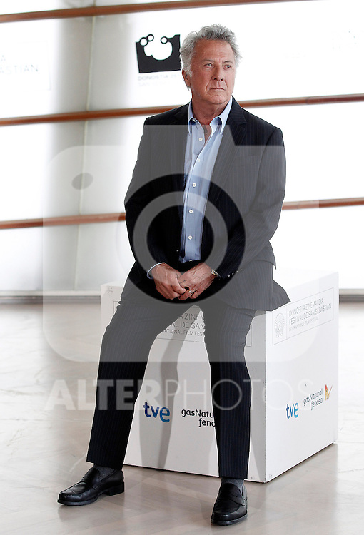 Dustin Hoffman attends the photocall of 'Quartet' during the 60th San Sebastian Donostia International Film Festival - Zinemaldia.September 29,2012.(ALTERPHOTOS/ALFAQUI/Acero)