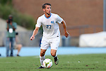 29 August 2014: North Carolina's Nick Williams. The University of North Carolina Tar Heels hosted the University of California Bears at Fetzer Field in Chapel Hill, NC in a 2014 NCAA Division I Men's Soccer match. North Carolina won the game 3-1.