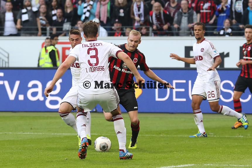 Sebastian Rode (EIntracht) gegen Per Nilsson (Nürnberg) - Eintracht Frankfurt vs. 1. FC Nuernberg,