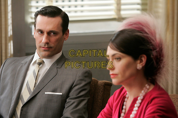 JON HAMM & MAGGIE SIFF.in Mad Men (Episode 3) .**Filmstill - Editorial Use Only**.CAP/FB.Supplied by Capital Pictures