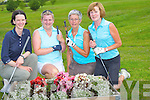 CHARITY: Jane Dwyer and Margaret O'Connell (Abbeyfeale), Margaret Curtin (Knocknagoshel) and Catherine Walsh (Castleisland) supporting the Captains of Castleisland Golf Club Charity Day Sunday.