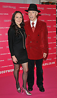 Dr Angelina Whalley and Dr Gunther von Hagens at the Bodyworlds human anatomy exhibition VIP launch, The London Pavilion, Piccadilly Institute, London, England, UK, on Thursday 04 October 2018.<br /> CAP/CAN<br /> ©CAN/Capital Pictures