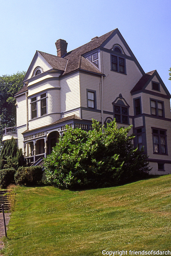 Port Gamble, WA.: Wm. Walker--E.J. Ames House. Walker was one of the Founders, along with Pope and Talbot. Ames married Walker's daughter.