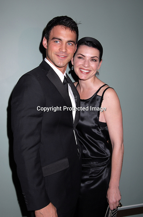 Julianna Margulies and boyfriend Keith Lieberthal ..at The Skin Cancer Foundation's Annual Skin Sense Award..Gala on October 11, 2006 at The Pierre Hotel...Robin Platzer, Twin Images