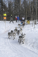 William Kleedehn Anchorage Start Iditarod 2008.