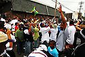 Rebirth Brass Band plays during the Single Men's Social Aid and Pleasure Club secondline in New Orleans, Sunday, March 19, 2006...(AP Photo/Cheryl Gerber).Rebirth Brass Band