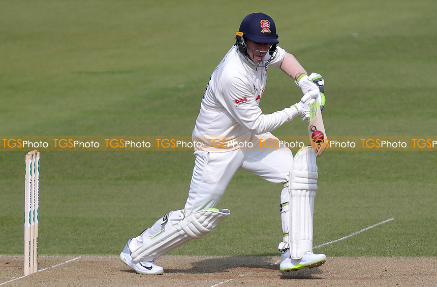 Peter Siddle of Essex in batting action during Surrey CCC vs Essex CCC, Specsavers County Championship Division 1 Cricket at the Kia Oval on 13th April 2019