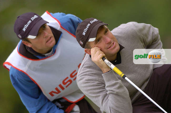 May 22nd, 2006. Nissan Irish Open Golf, Carton House, Maynooth, Kildare..England's Anthony Wall in action on the 18th hole..Photo Julian Behal/PA