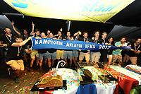 ZEILSPORT: LEMMER: 26-08-2017, IFKS Skûtsjesilen huldiging, ©foto Martin de Jong