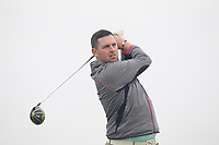 Thomas O'Connor (Athlone) on the 2nd tee during Round 1 of The East of Ireland Amateur Open Championship in Co. Louth Golf Club, Baltray on Saturday 1st June 2019.<br /> <br /> Picture:  Thos Caffrey / www.golffile.ie<br /> <br /> All photos usage must carry mandatory copyright credit (© Golffile | Thos Caffrey)