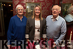 Charlie, Mary and Eileen Hartnett from Tralee enjoying the evening out in Cassidys on Saturday