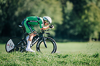 Ryan Mullen (IRL/Trek-Segafredo)<br /> <br /> MEN ELITE INDIVIDUAL TIME TRIAL<br /> Hall-Wattens to Innsbruck: 52.5 km<br /> <br /> UCI 2018 Road World Championships<br /> Innsbruck - Tirol / Austria