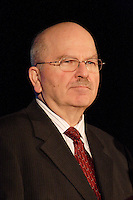 may 3rd 2006, Montreal (Qc) CANADA<br /> Guy G. Dufresne, Chairman of the Board of Directors of Cambior Inc. (TSX:CBJ)(AMEX:CBJ), speaks to shareholders.<br /> Cambior Inc. earns $9.1 million US in Q1 net profit<br /> Photo : Images Distribution
