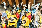 finnische Fans feiern den Sieg im Finale Team Canada - KalPa Kuopio beim Spengler Cup in der Schweiz 2018<br /> <br /> Foto &copy; PIX-Sportfotos *** Foto ist honorarpflichtig! *** Auf Anfrage in hoeherer Qualitaet/Aufloesung. Belegexemplar erbeten. Veroeffentlichung ausschliesslich fuer journalistisch-publizistische Zwecke. For editorial use only.