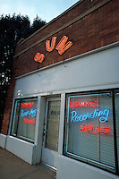 Sun Records, famous for discovering Elvis Presley, Memphis, Tennessee.
