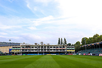 A general view of the Recreation Ground pitch. Gallagher Premiership match, between Bath Rugby and Exeter Chiefs on October 5, 2018 at the Recreation Ground in Bath, England. Photo by: Rogan Thomson / JMP for Onside Images