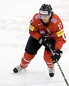 Roman Josi (Switzerland - 27) - Team Switzerland defeated Team Latvia 7-5 on Wednesday, December 30, 2009, at the Credit Union Centre in Saskatoon, Saskatchewan, during the 2010 World Juniors tournament.