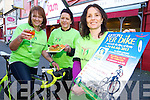 Pictured launching the Kerry Lifeline registration Party for the Ring of Kerry Cycle which will take place on Wednesday 6th March were Maria Stack, Southwest Counselling Centre, Sheila McCarthy, Jam and Geraldine Sheedy, Southwest Counselling Centre.