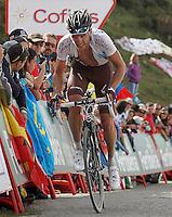 Nicolas Roche during the stage of La Vuelta 2012 between La Robla and Lagos de Covadonga.September 2,2012. (ALTERPHOTOS/Acero) /NortePhoto.com<br /> <br /> **CREDITO*OBLIGATORIO** <br /> *No*Venta*A*Terceros*<br /> *No*Sale*So*third*<br /> *** No*Se*Permite*Hacer*Archivo**<br /> *No*Sale*So*third*