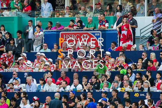 United States vs England during the HSBC Sevens Wold Series match of the Cathay Pacific / HSBC Hong Kong Sevens at the Hong Kong Stadium on 28 March 2015 in Hong Kong, China. Photo by Juan Manuel Serrano / Power Sport Images