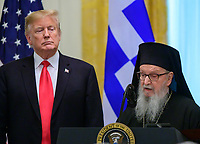 Donald Trump attends the Greek Independence Day Celebration