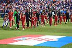 08.06.2019., stadium Gradski vrt, Osijek - UEFA Euro 2020 Qualifying, Group E, Croatia vs. Wales. Luka Modric, Dejan Lovren, Tin Jedvaj, Marcelo Brozovic. <br /> <br /> Foto © nordphoto / Davor Javorovic/PIXSELL